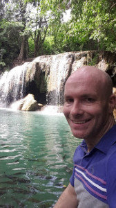 Niall Gavigan, teaching in Thailand